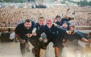 Sydeny folk punk rockers THE RUMJACKS touring Europe
