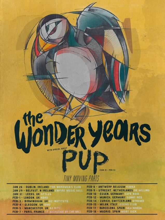 THE WONDER YEARS on tour