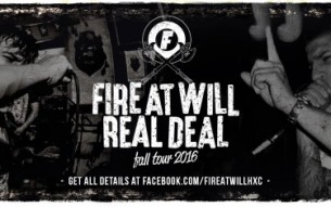 Hardcore bands FIRE AT WILL and RAW DEAL announce European dates