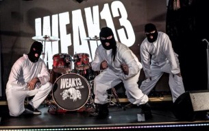 British alt rock / punk rock act WEAK13 comment on their new music video