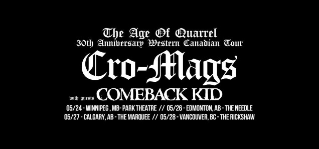 COMEBACK KID Canada