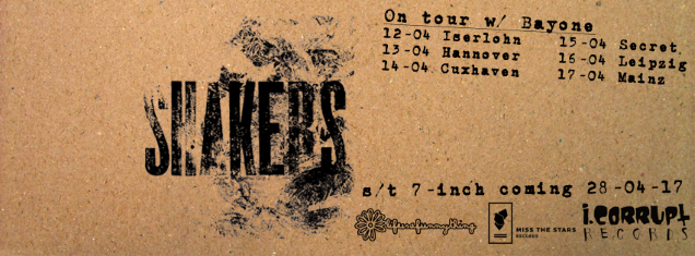 SHAKERS live