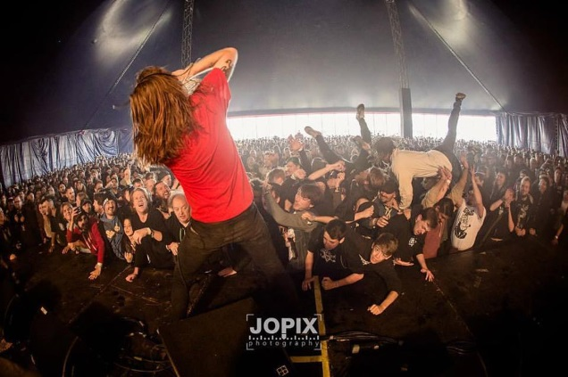 CLOWN live at groezrock by JOPIX - Jonas Demeulemeester