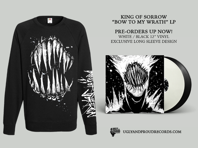 KING OF SORROW merch