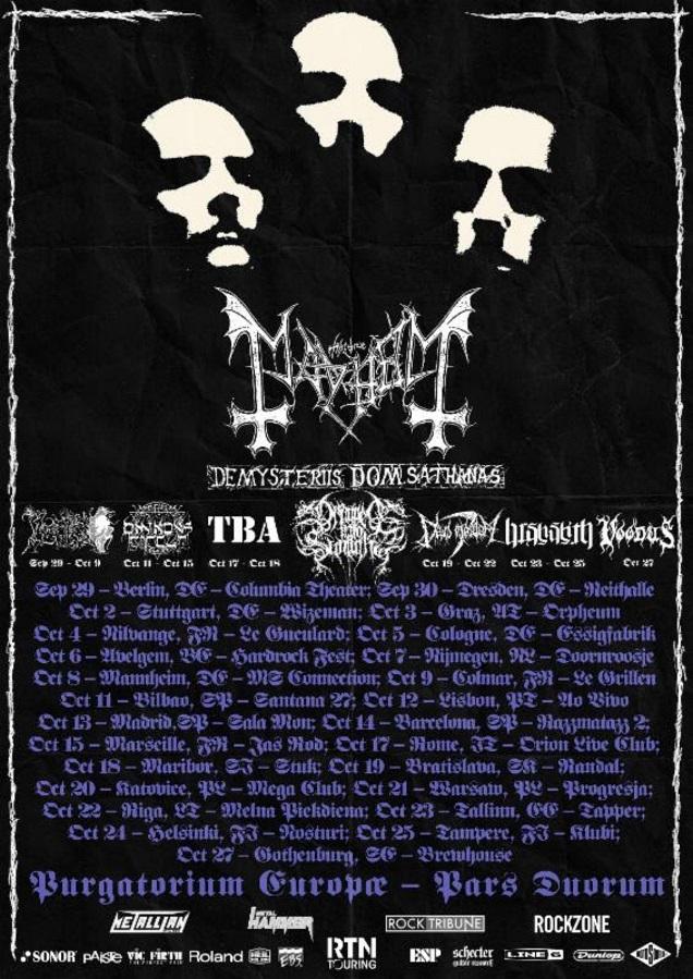 MAYHEM tour