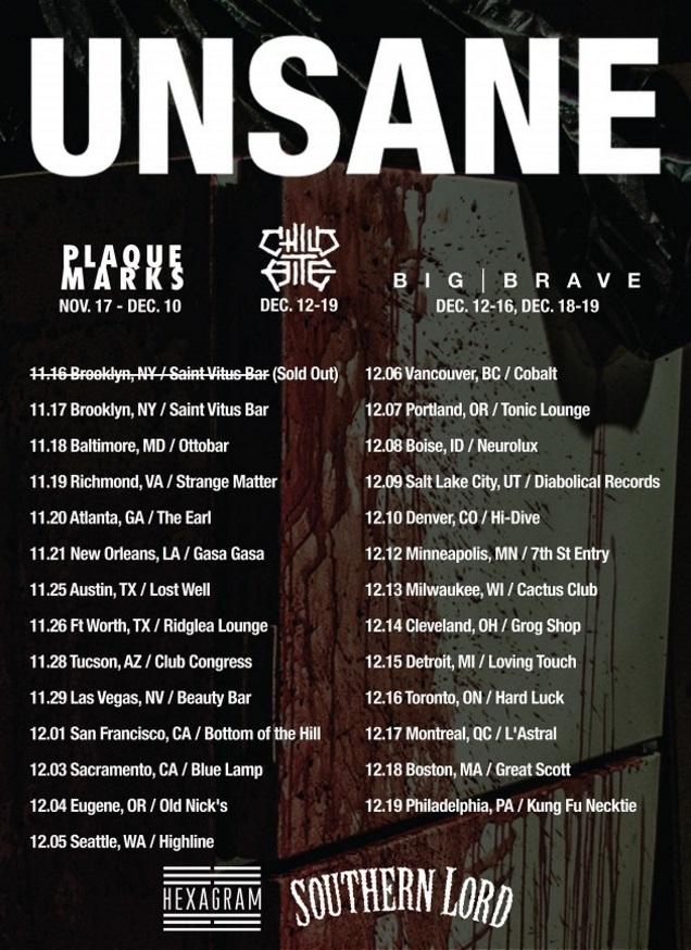 UNSANE tour