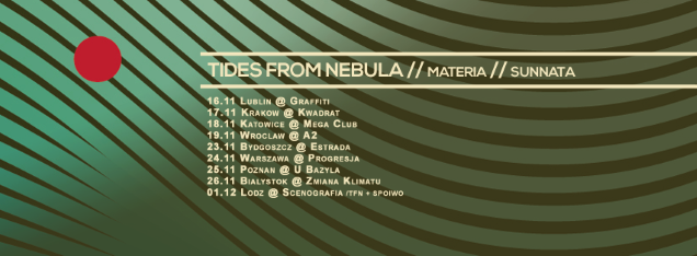 TIDES FROM NEBULA shows